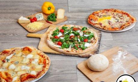 Livraison gratuite de pizzas à domicile cuite au feu de bois à Saint-romain-en-gal