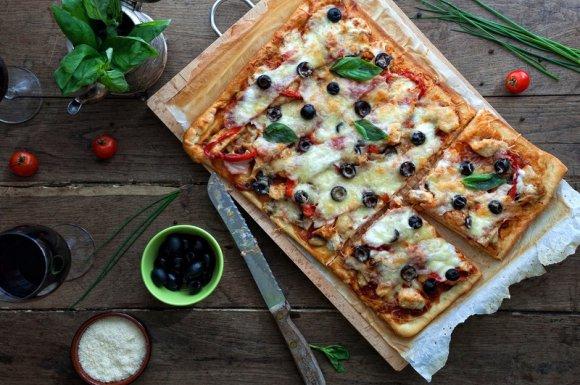 Livraison plaque pizza Vienne