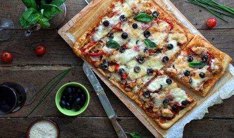 Livreur de pizza à Vienne